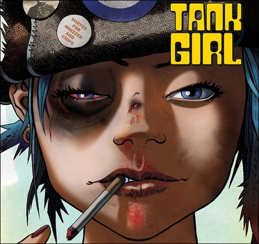 Free Comic Book Day Tank Girl: 21st Century Tank Girl Collection Coming In December 2015