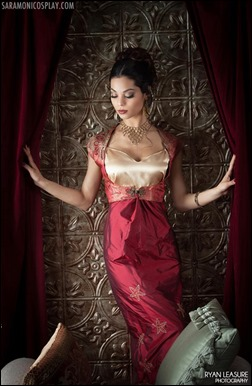 Sara Moni as Inara Serra (Photo by Ryan Leasure Photography)