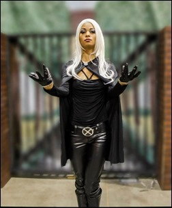 Sara Moni as Storm (Photo by Rob Kashikoi)