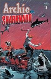 Archie vs Sharknado #1 Cover B - Hack Variant