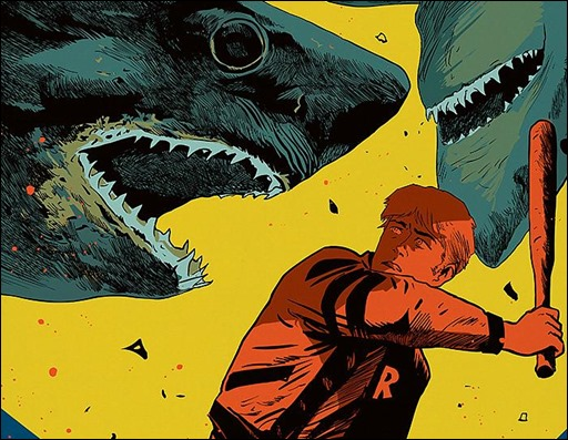 Archie vs Sharknado #1
