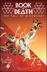 Book of Death: The Fall of Bloodshot #1 Cover - Yardin Variant