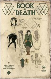 Book of Death #1 Cover - Rivera Design Variant