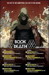 Book of Death Checklist