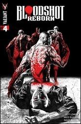 Bloodshot Reborn #4 Cover A - Suayan