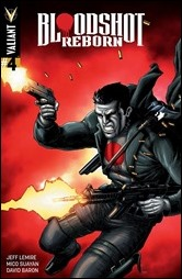 Bloodshot Reborn #4 Cover - Gill Variant