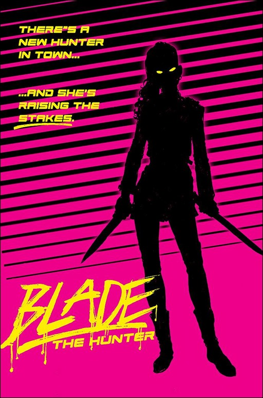 Blade #1 Cover - Seeley Variant