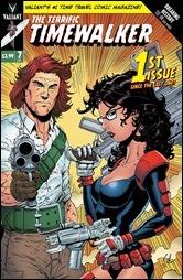 Ivar, Timewalker #7 Cover - Gill Variant