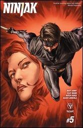 Ninjak #5 Cover A - LaRosa