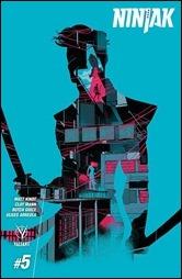 Ninjak #5 Cover - Allen Variant