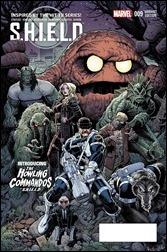 SHIELD #9 Cover - Adams Howling Commandos Variant