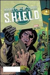 SHIELD #9 Cover - Kirby - Steranko Variant