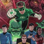 Preview: Star Trek/Green Lantern #1 by Johnson & Hernandez