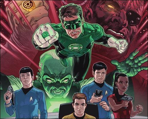Star Trek/Green Lantern #1