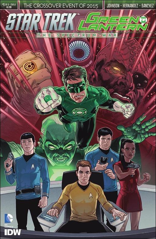 Star Trek/Green Lantern #1 Cover