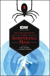 The Shrinking Man #1 Cover