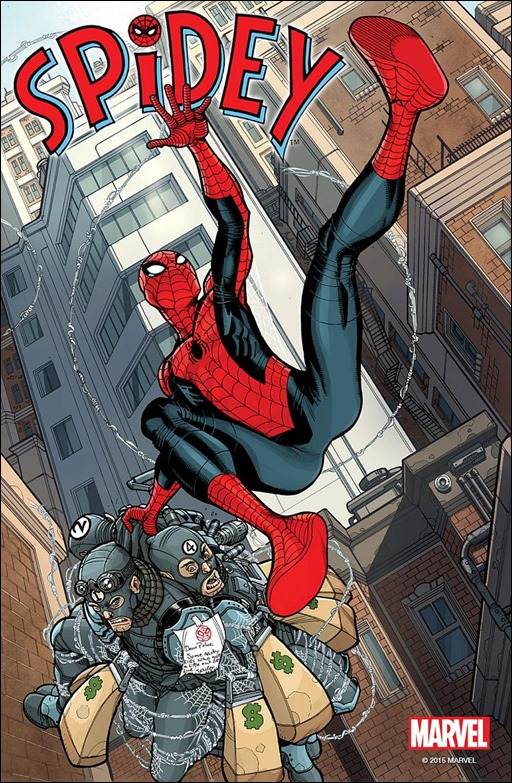 Spidey #1 Cover