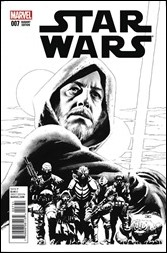 Star Wars #7 Cover - Cassaday Sketch Variant