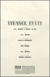 Strange Fruit #1 Preview 1