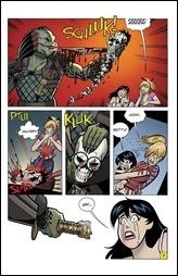 Archie vs. Predator #4 Preview 2