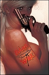 Barb Wire #3 Cover - Adam Hughes