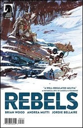 Rebels #5 Cover