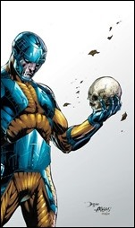 Book of Death: The Fall of X-O Manowar #1 Cover - Bernard Variant