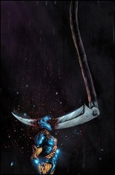 Book of Death: The Fall of X-O Manowar #1 Cover - Lee Variant