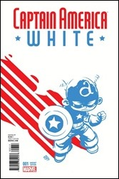 Captain America: White #1 Cover - Young Variant