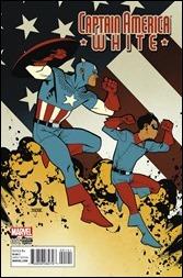 Captain America: White #1 Cover - Asrar Variant