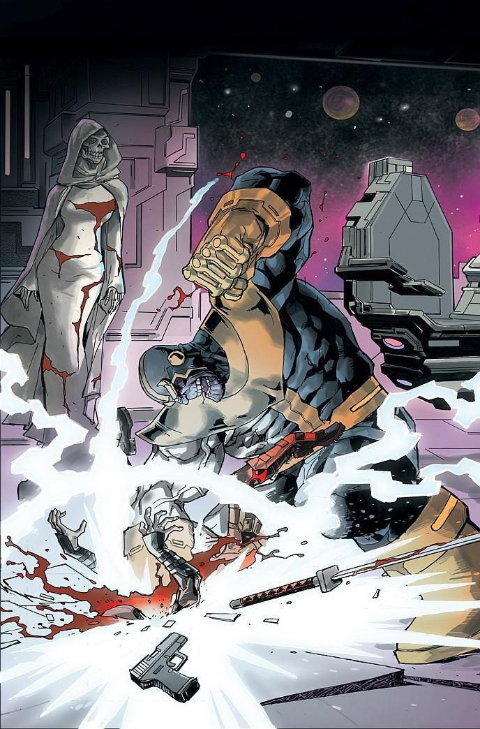 First Look: Deadpool vs. Thanos #1 by Seeley & Bondoc