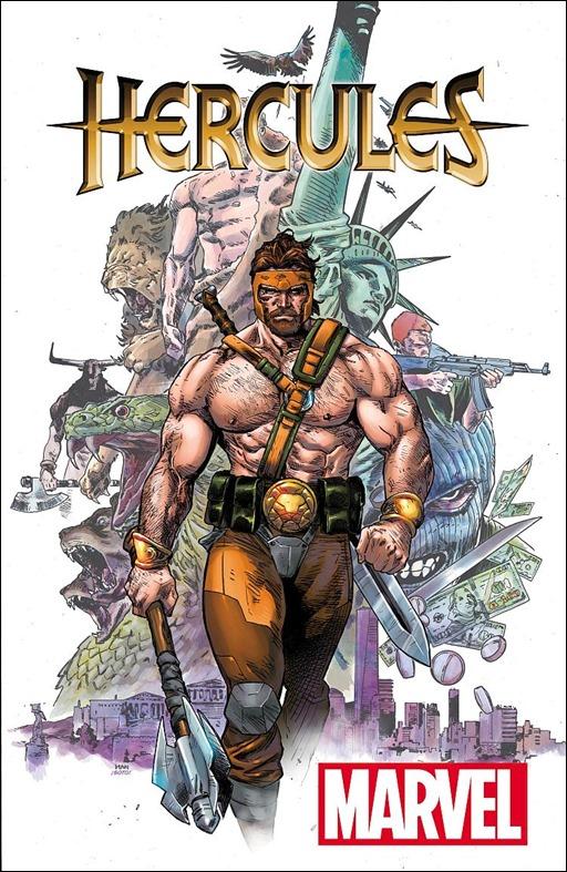 Hercules #1 Cover