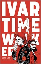 Ivar, Timewalker #8 Cover - Gill Variant