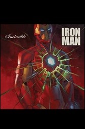 Invincible Iron Man #1 Cover - Stelfreeze hip-hop Variant
