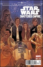 Journey to Star Wars: The Force Awakens - Shattered Empire #1 Cover
