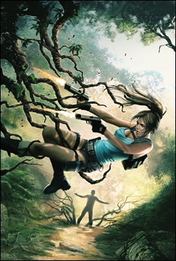 Lara Croft and the Frozen Omen #1 Cover