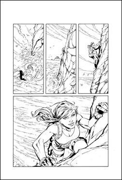 Lara Croft and the Frozen Omen #1 Preview 1