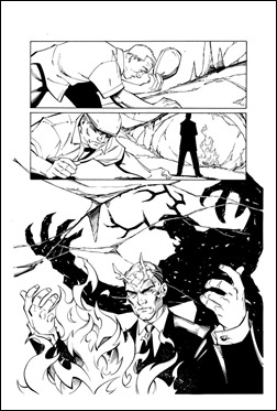 Lara Croft and the Frozen Omen #1 Preview 2