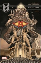 Miracleman by Gaiman & Buckingham #1 Cover - Bianchi Variant