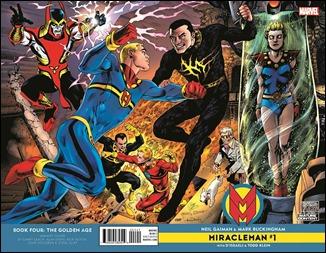 Miracleman by Gaiman & Buckingham #1 Cover - Jam Variant