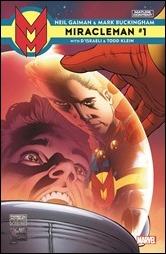 Miracleman by Gaiman & Buckingham #1 Cover - Quesada Variant