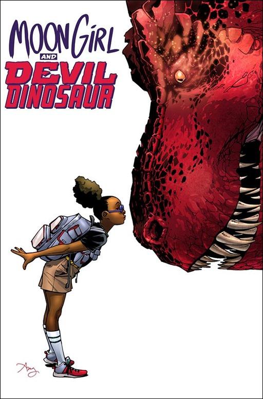 Moon Girl & Devil Dinosaur #1 Cover