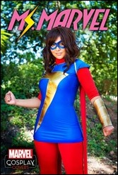 Ms. Marvel #1 Cosplay Variant by Soni Balestier