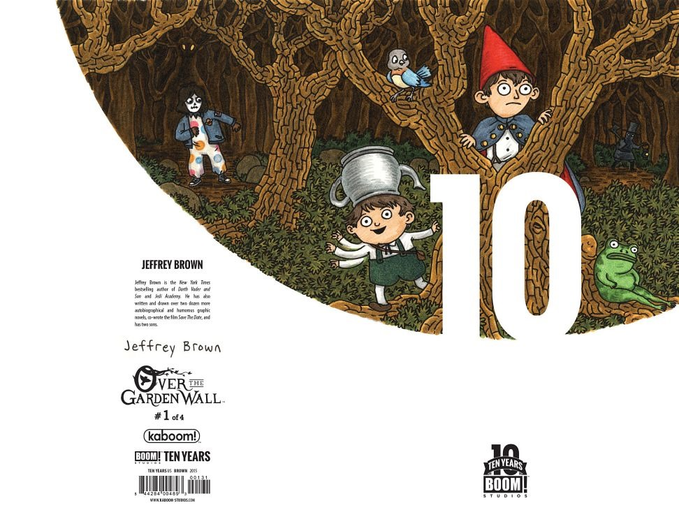 Over The Garden Walk: Preview: Over The Garden Wall #1 (KaBOOM