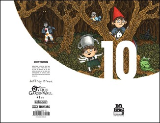 Over the Garden Wall #1 Cover D - 10 Years