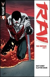 Rai #9 Cover - Henry Variant
