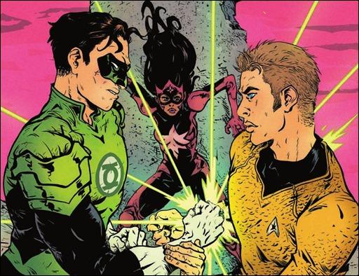 Star Trek/Green Lantern #2