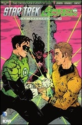 Star Trek/Green Lantern #2 Cover - Paul Pope