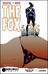 The Fox #5 Cover - Sienkiewicz Variant