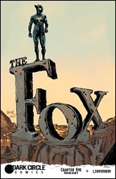 The Fox #5 Cover - Hack Variant